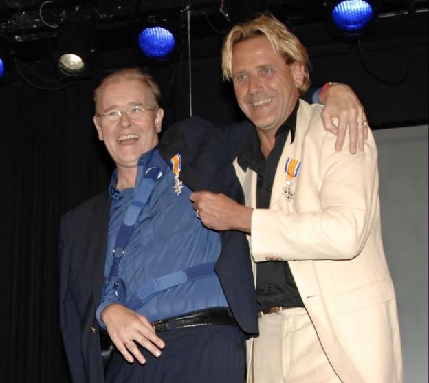 Diederik Hummelinck en Arjen Stuurman benoemd tot Ridder in de Orde van Oranje-Nassau