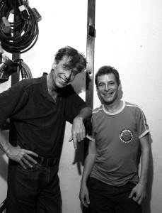 Hans Sibbel en Maarten van Roozendaal fotograaf Martin Oudshoorn